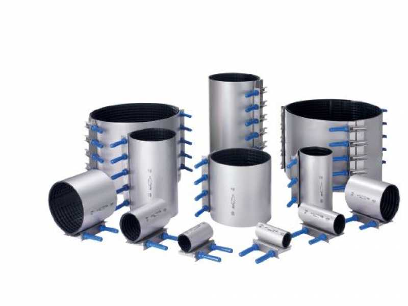 Repair clamps fast permanent water solutions viadux