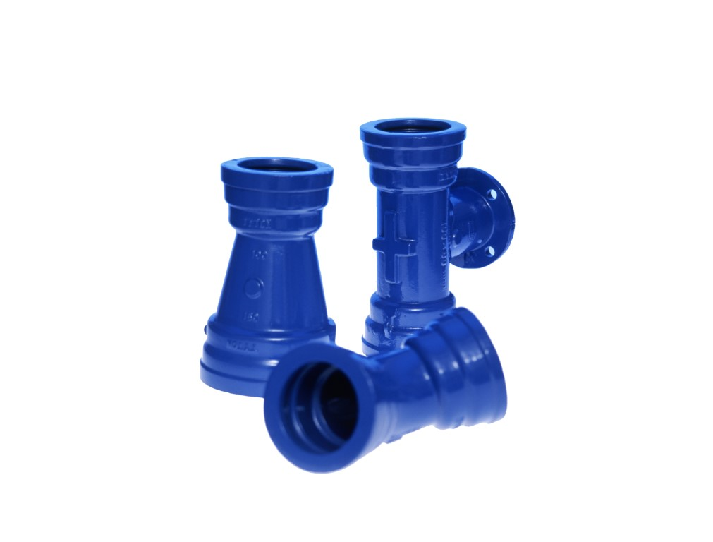 Ductile iron fittings permanent water solutions viadux