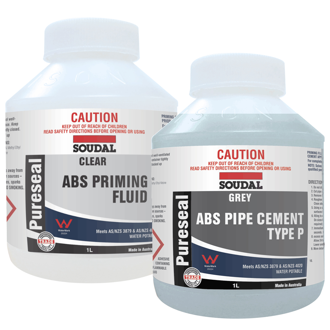 Pureseal ABS Solvent Cement & Priming Fluid