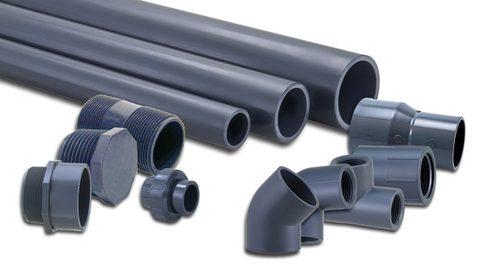 Schedule 80 UPVC & CPVC pipe systems