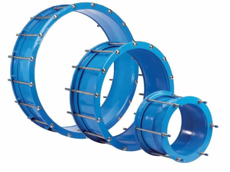High Pressure Dedicated OD Mechanical Pipe Couplings