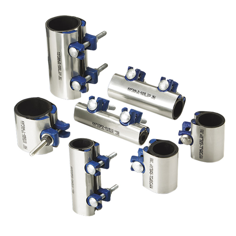 KWIK Repair Clamps for the repair of galvanised steel and PVC