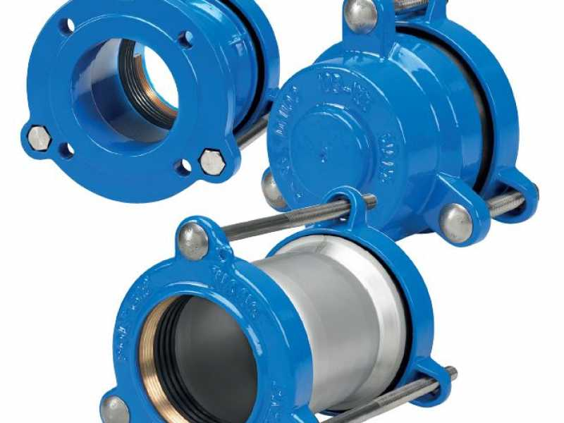 Poly-Gib Mechanically Restrained Couplings