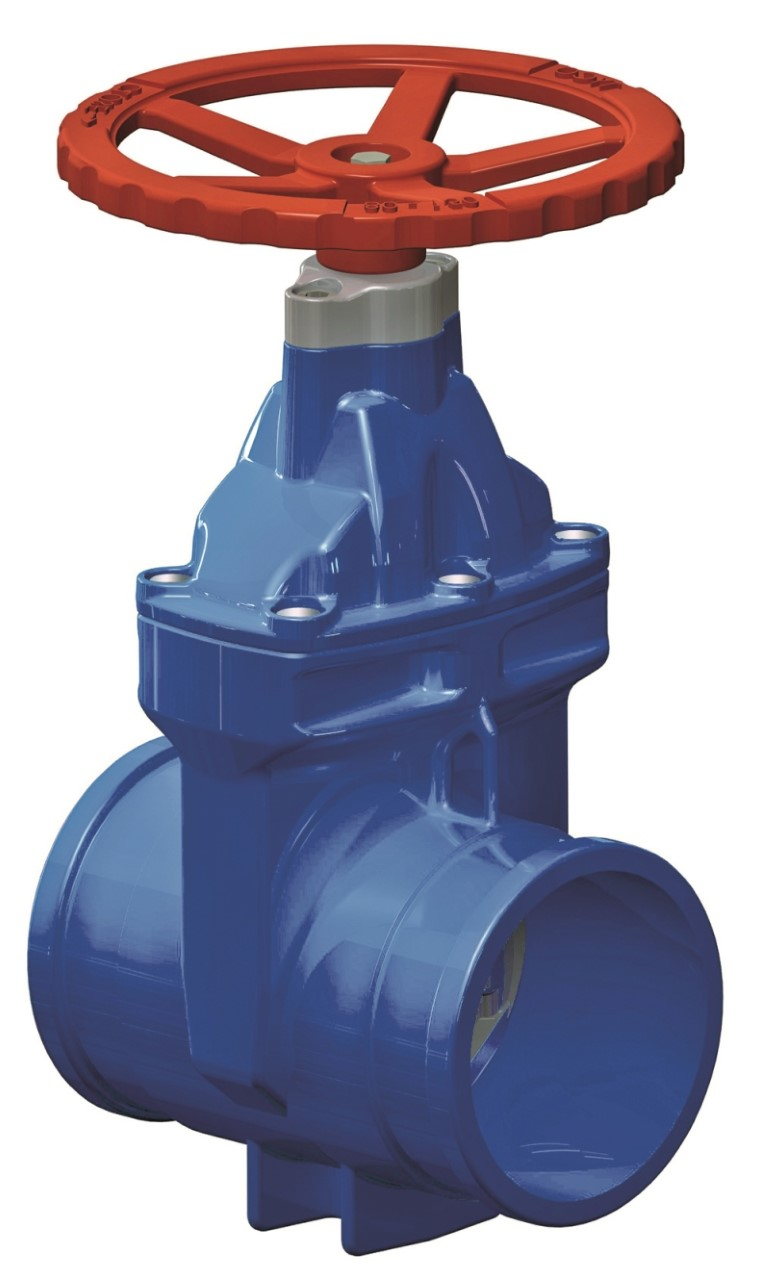 AUSLITE Resilient Seated Gate Valves with shouldered ends