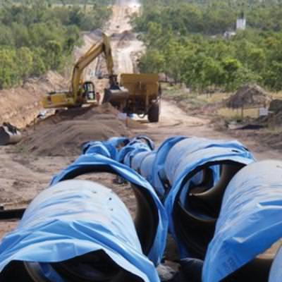 VIADUX Water Solutions Case Study Burdekin to Moranbah Pipeline