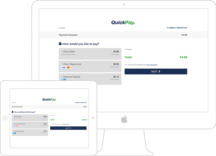 QuickPay and Account Balance